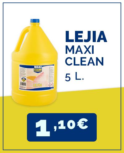 lejia maxi clean supermercado cash and carry