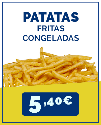 patatas fritas supermercados cash and carry al por mayor