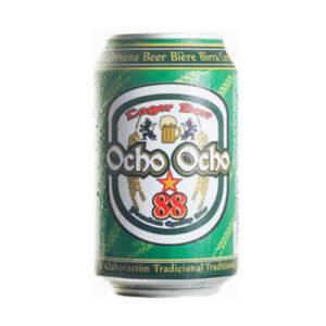 Lata 33cl. Cerveza Ocho Ocho 88 Import Premium Beer