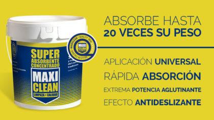 Súper Absorbente: El nuevo y revolucionario producto de Maxi Cash