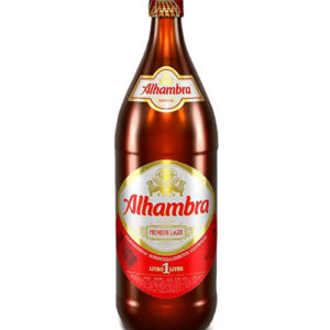 Cerveza Alhambra 1L