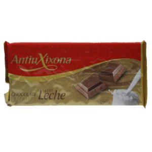 Chocolate con leche Antiu Xixona