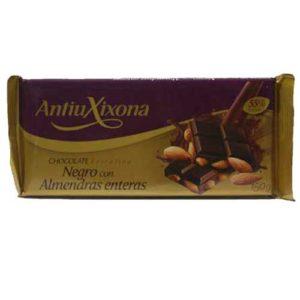 Chocolate negro con almendras Antiu Xixona