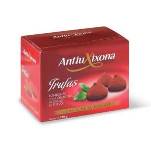 Trufas al cacao Antiu Xixona
