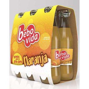 Bebovida Naranja Pack-6 0,20L