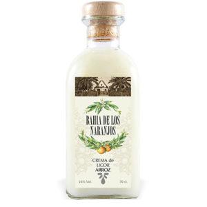 Crema de licor de arroz Bahía de los Naranjos