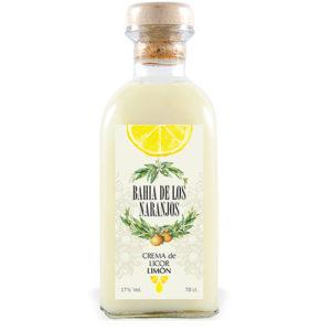 Crema de licor Limón Bahía de los Naranjos