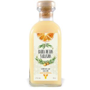 Crema de licor Mandarina Bahía de los Naranjos