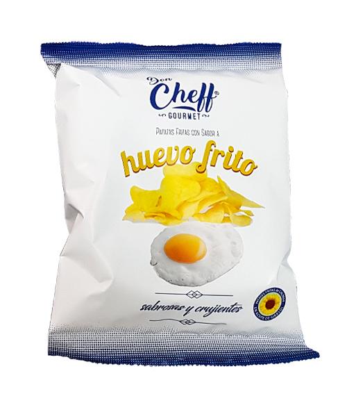 Patatas huevo frito