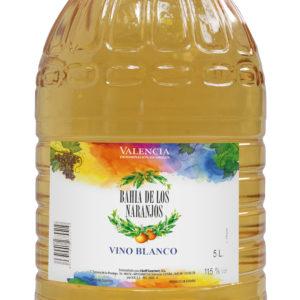 Vino Blanco 5L. Bahía de los Naranjos