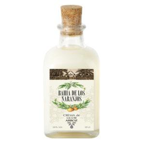 Crema de licor de arroz Bahía de los Naranjos 10cl.