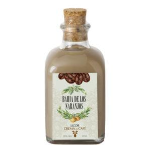 Crema de licor de café Bahía de los Naranjos 10cl.