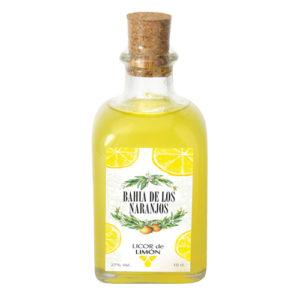 Licor de limón Bahía de los Naranjos 10cl.