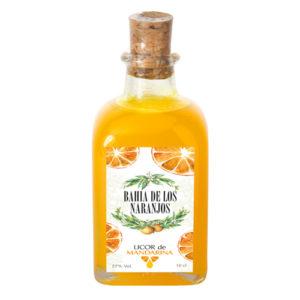 Licor de mandarina Bahía de los Naranjos 10cl.