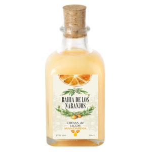 Crema de licor de naranja Bahía de los Naranjos 10cl.