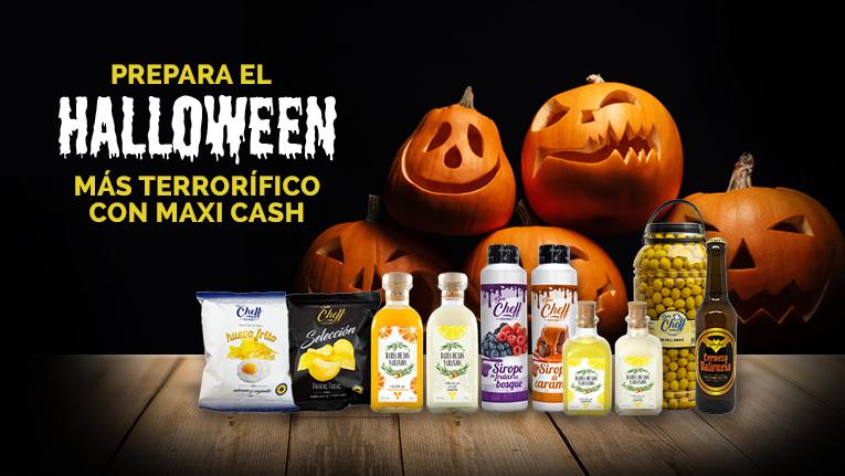 Vive el Halloween más terrorífico con los productos de Maxi Cash